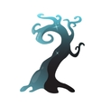 Magic tree on a white background vector image